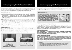 AquaBagStop flood bags manual
